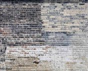 Old Multi Colored Brick Wall Mural is printed on removable wallpaper. Sold by AboutMurals.ca