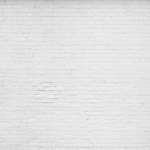 A white brick wallpaper