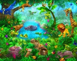 Animal Wall Murals - Featured Wallpaper - Jungle from AboutMurals.ca