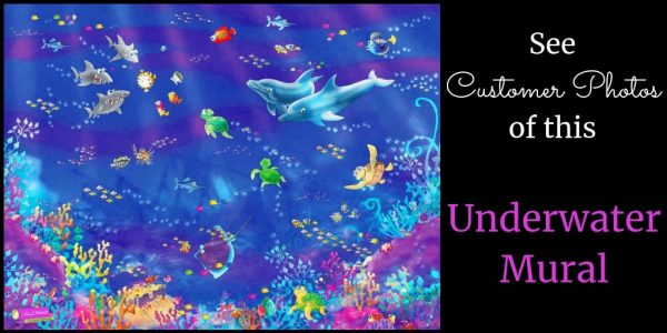 See customer photos of this underwater mural, sold by AboutMurals.ca