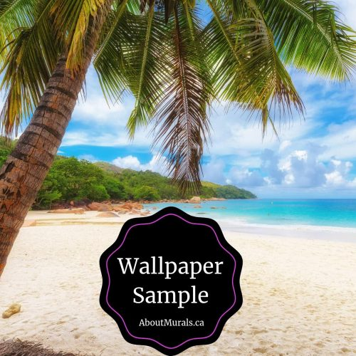 Beach wallpaper sample available from AboutMurals.ca
